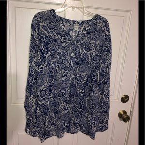 Old Navy women's flowy tunic shirt